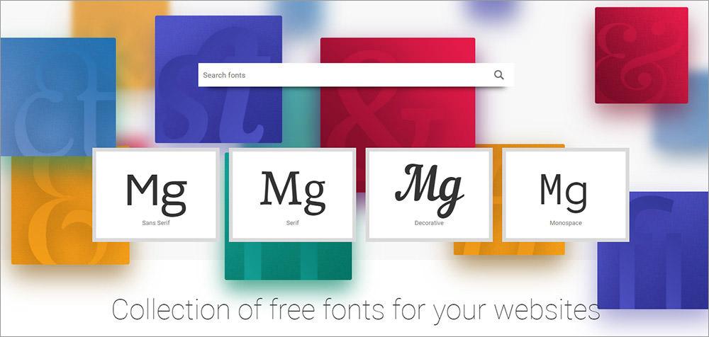 Fontstorage homepage