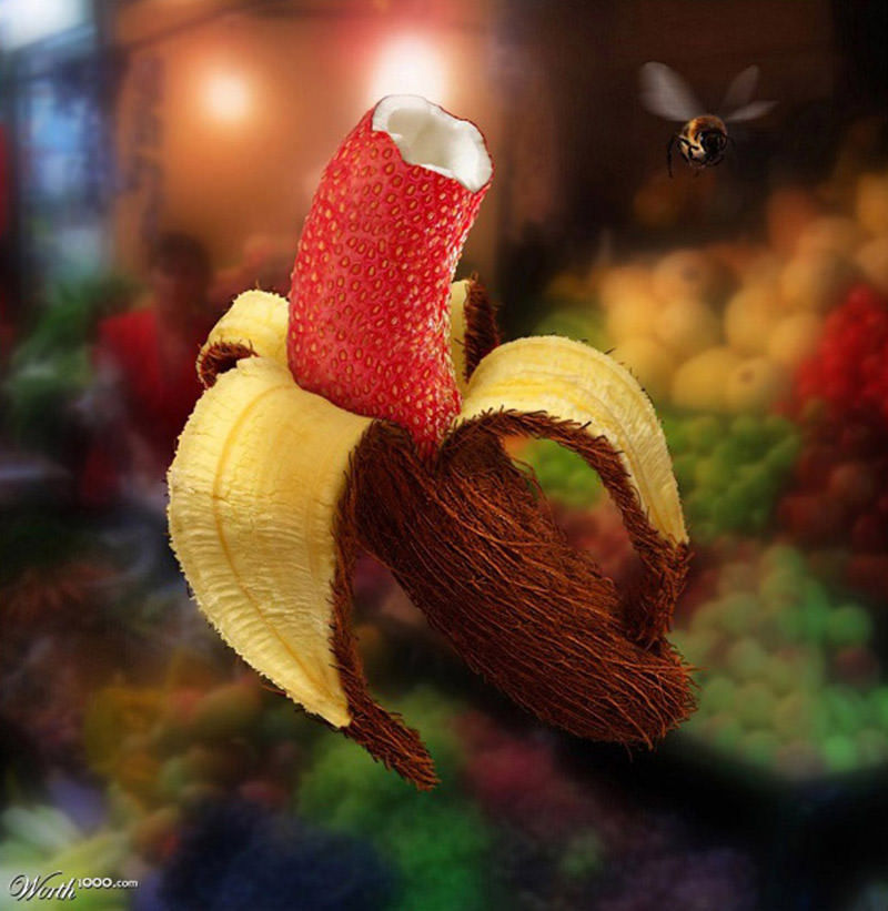 food manipulation photo