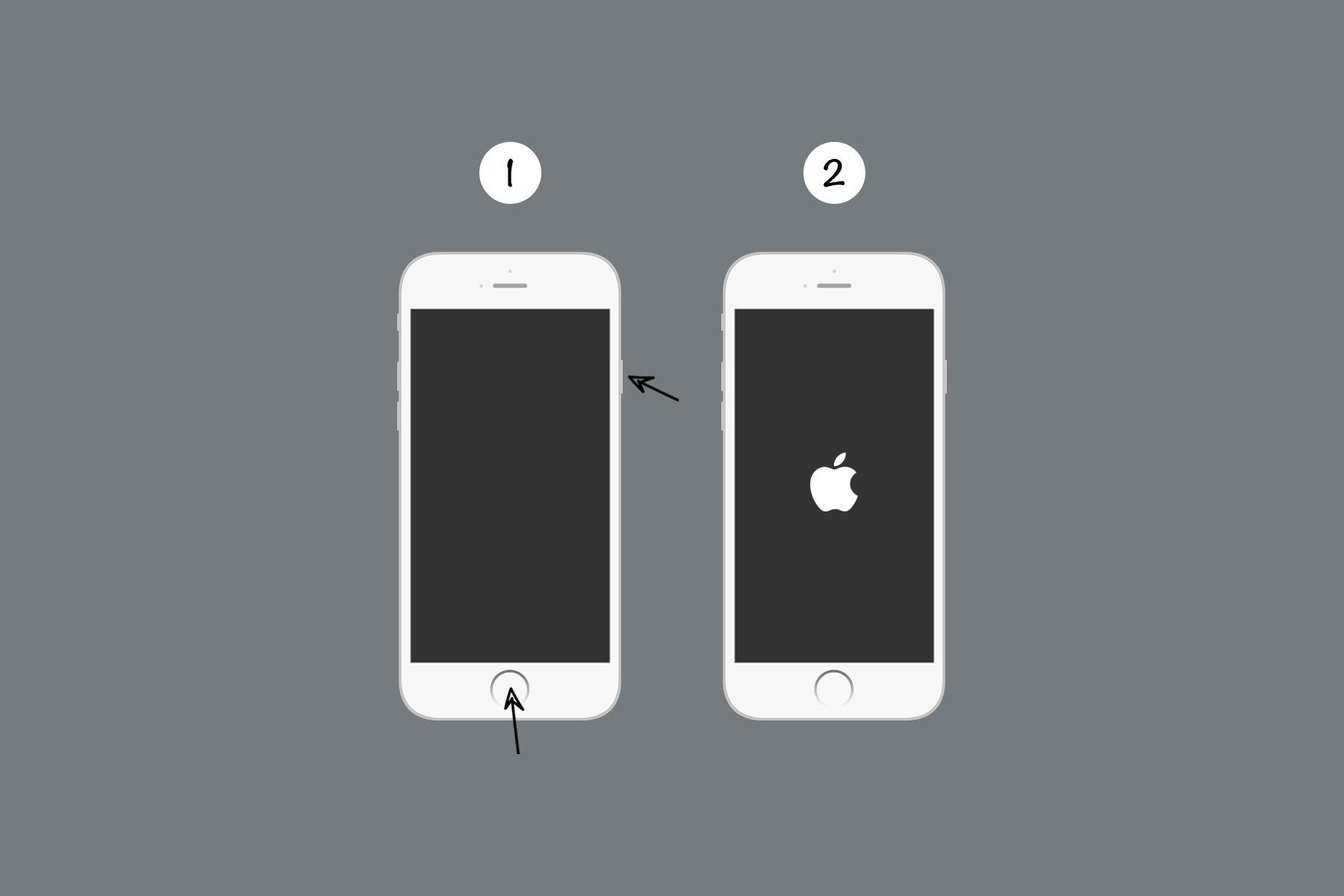 force restart iphone 6,6plus, 6splus