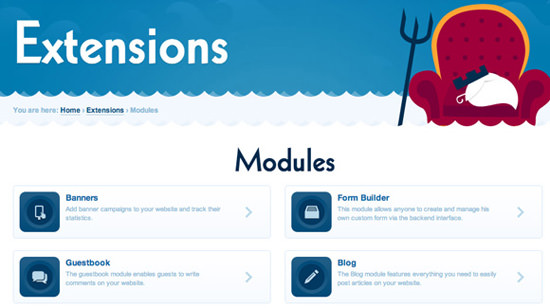 Fork CMS Modules extensions gallery