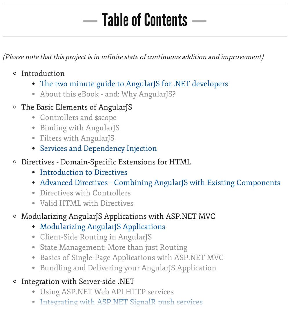 AngularJS for .NET Developers