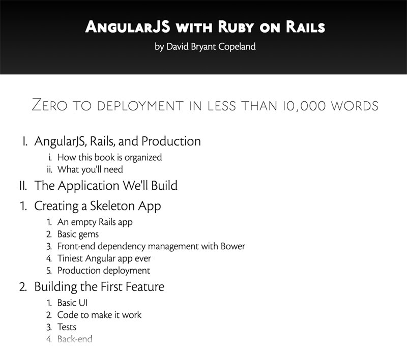 AngularJS with Ruby
