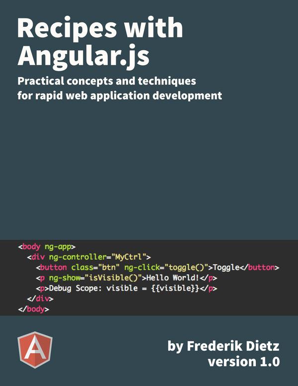 Recipes With AngularJS