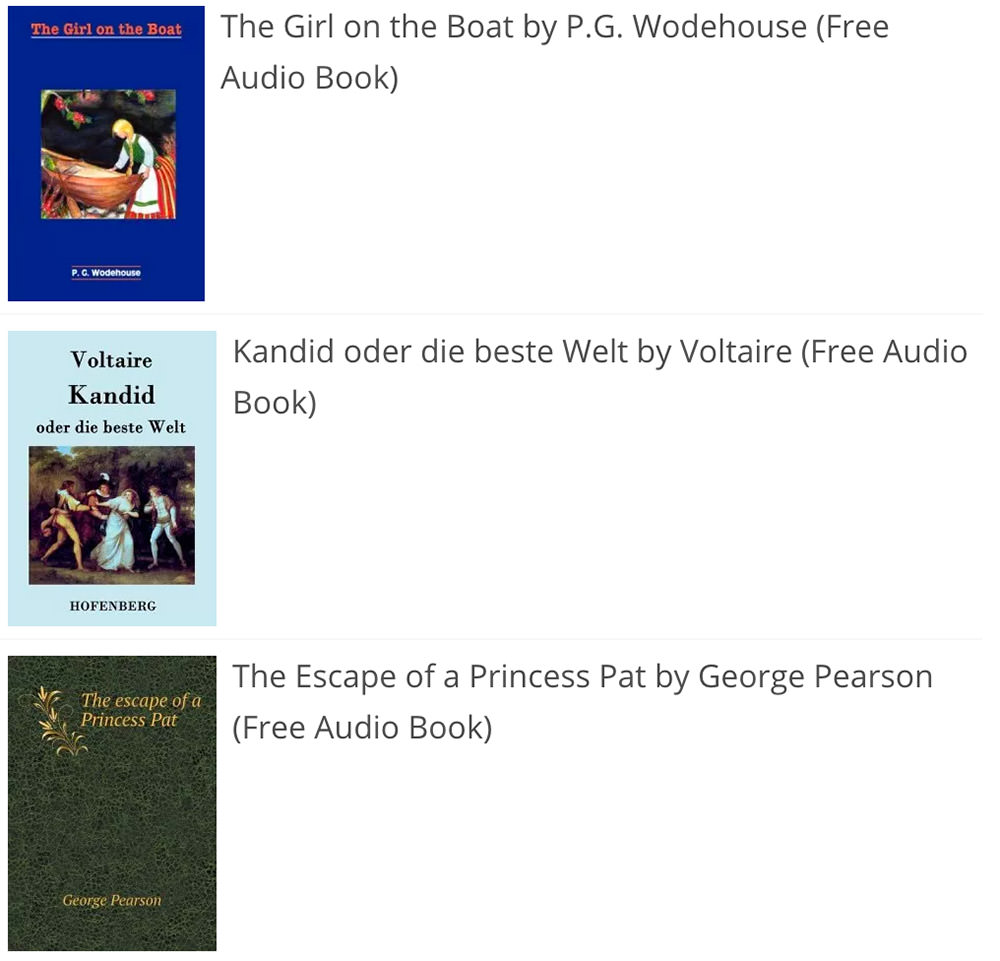 Audiobook Treasury