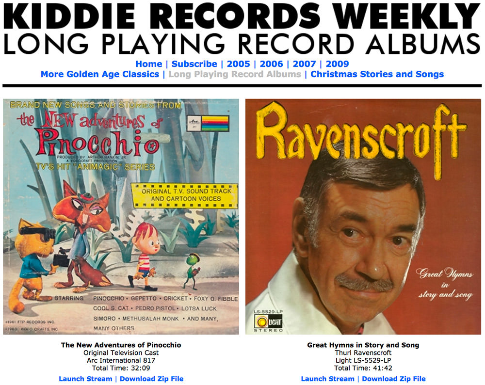 Kiddie Records