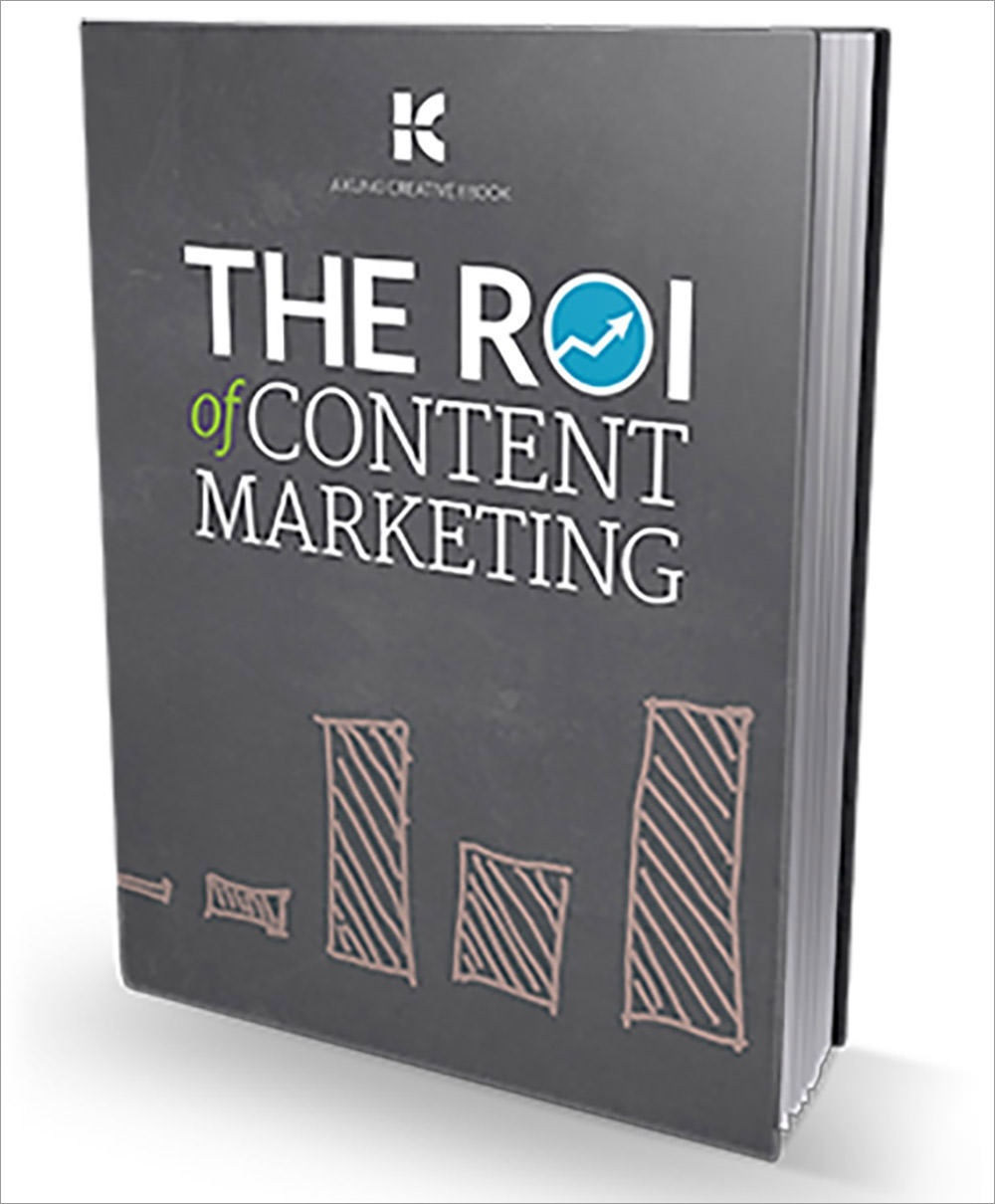 roi of content marketing ebook