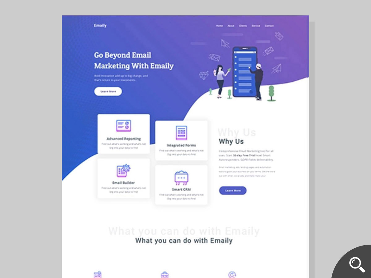 emaily newsletter template