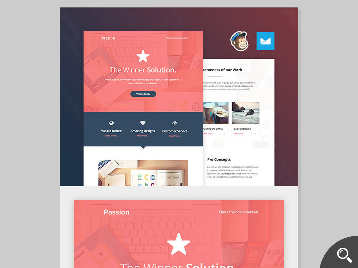 passion email template