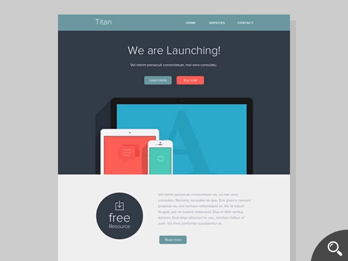 title newsletter template