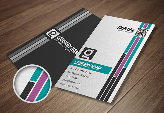 Freebie release 10 business card templates psd hongkiat businesscard template 2 preview front back download wajeb Images