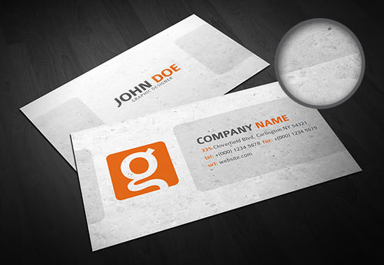 Freebie release 10 business card templates psd hongkiat businesscard template 3 preview front back download flashek Gallery