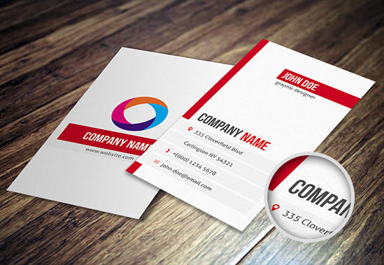 Freebie release 10 business card templates psd hongkiat businesscard template 9 preview front back download cheaphphosting Images