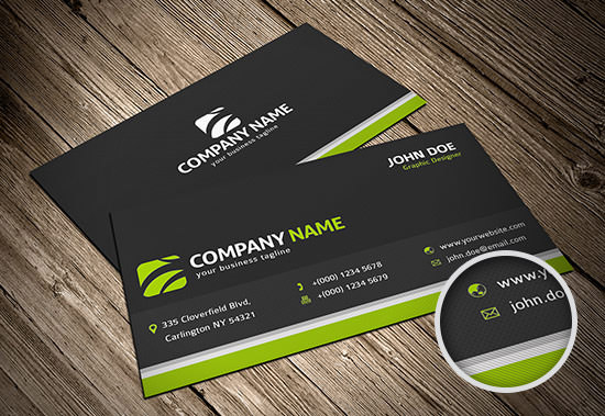 Freebie Release Business Card Templates PSD Hongkiat - Free business card template word