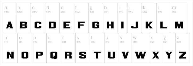 Corporate-HQ-free-font