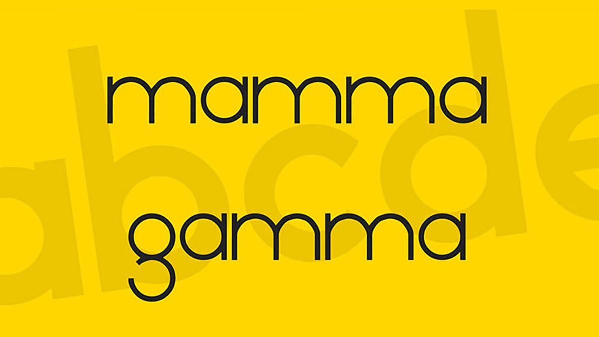Mamma Gamma-free-font