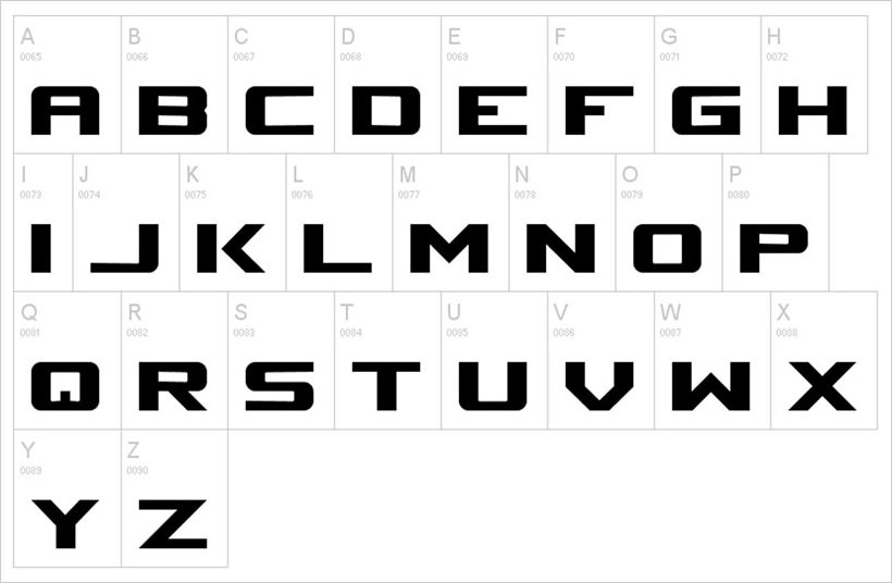 Space Marine-free-font