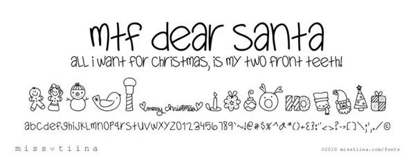 christmas fonts