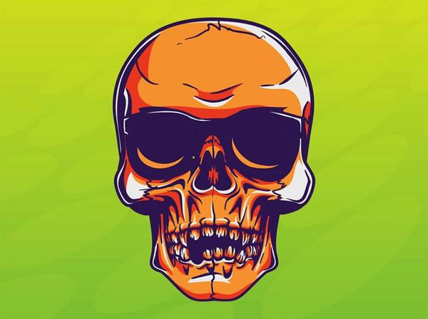 Cool Skull Vector