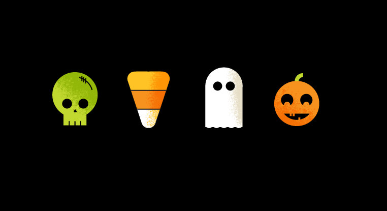 Halloween Icons by Alex Miles