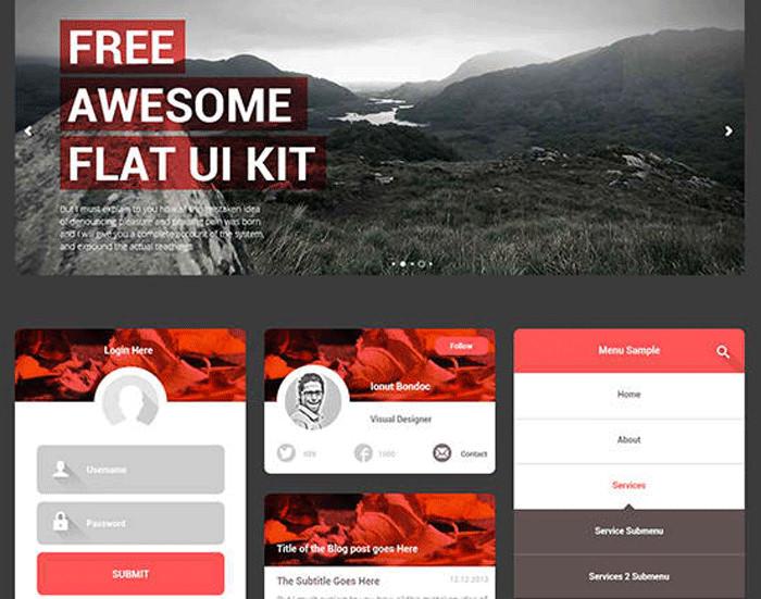 free ui kits for designers