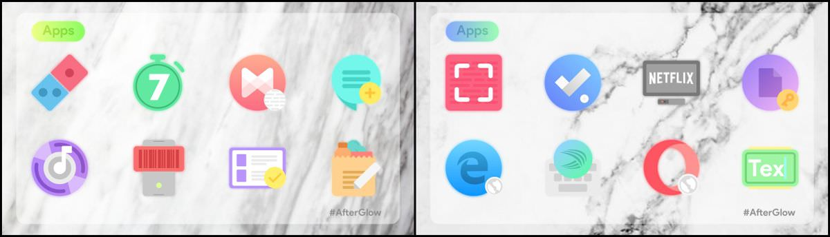 Afterglow Icons Free for Android