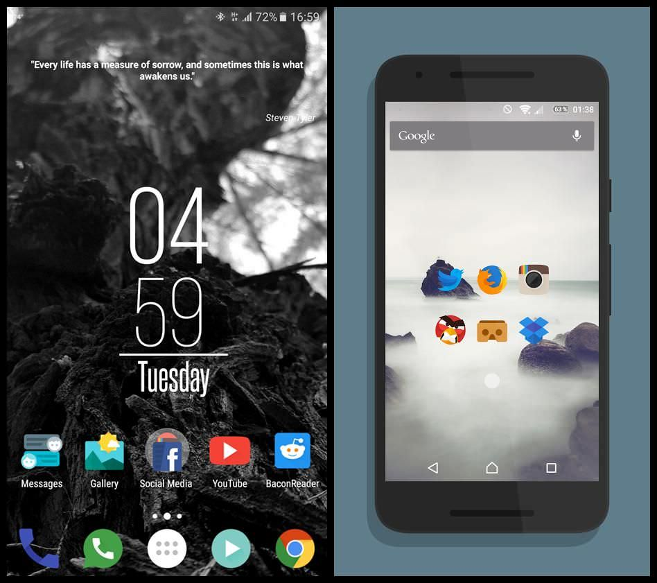 Glim - Free Flat Icon Pack for Android