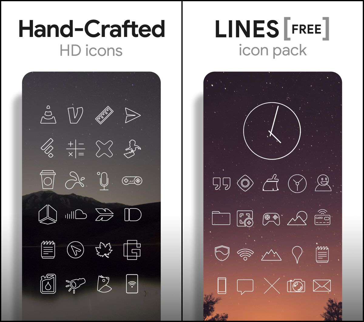 Lines - Icon Pack for Android