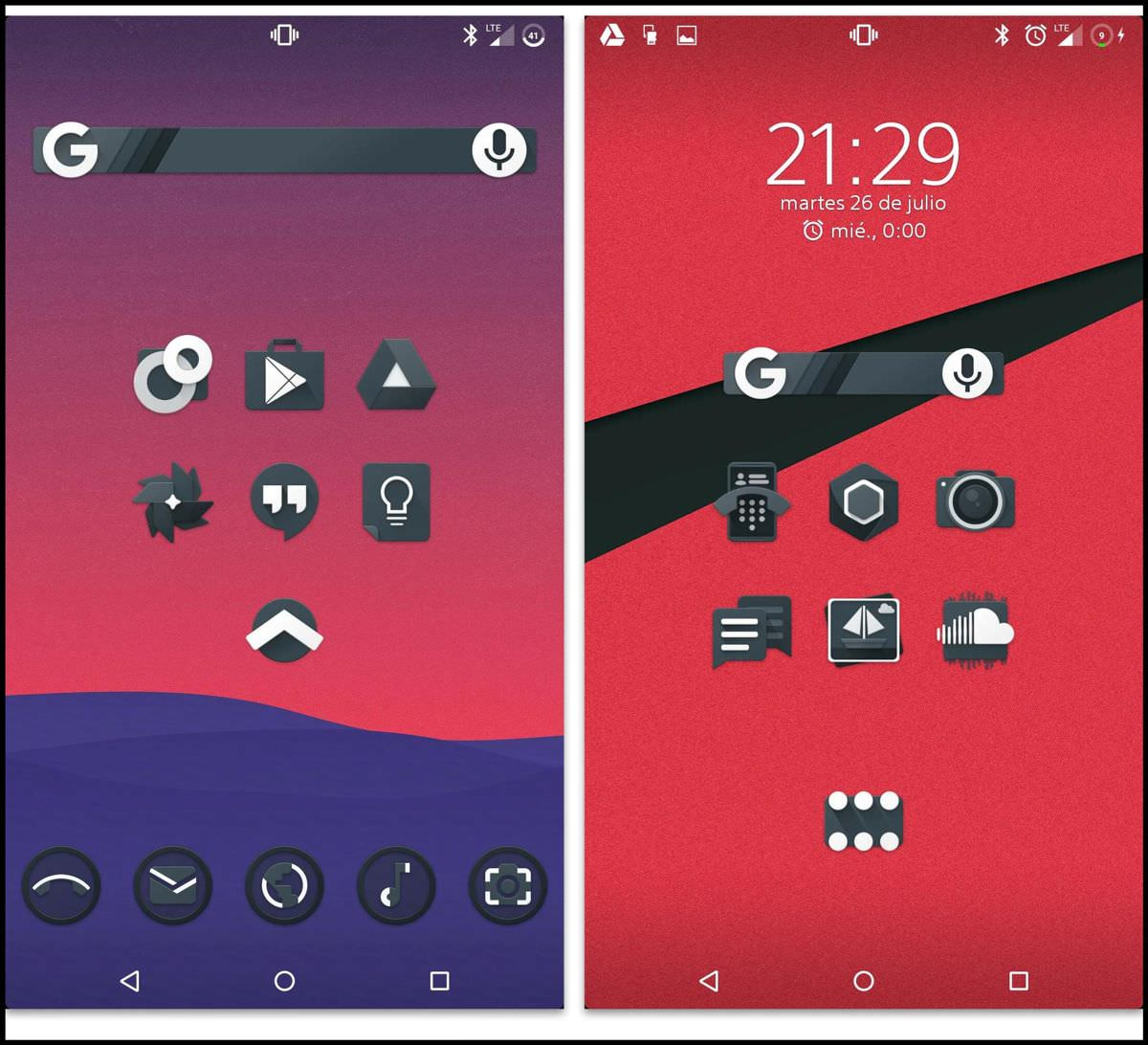 Noctum Icon Pack for Android