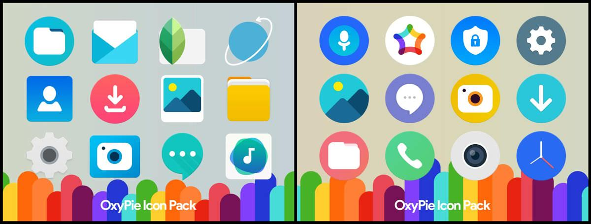OxyPie Free Icon Pack for Android