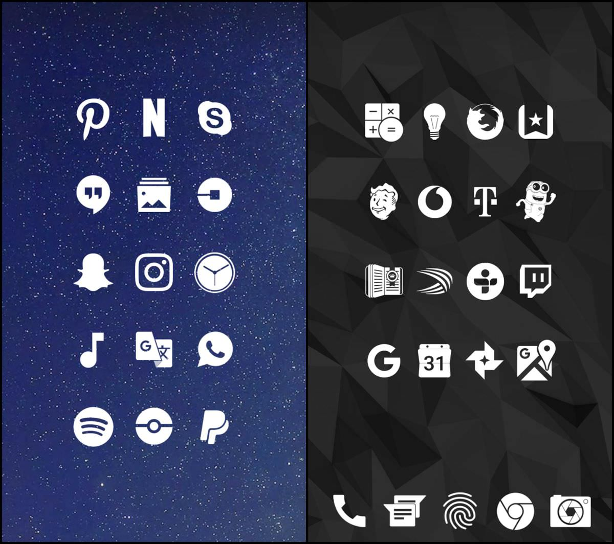 Whicons - White Icon Pack for Android