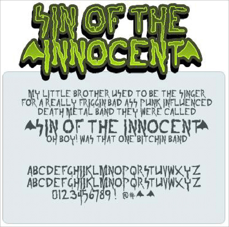 Sin of the innoccent