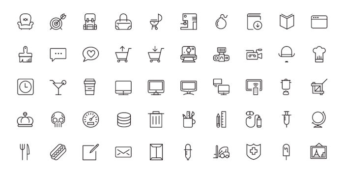 20 Free Multi Purpose Iconsets You Should Bookmark Hongkiat