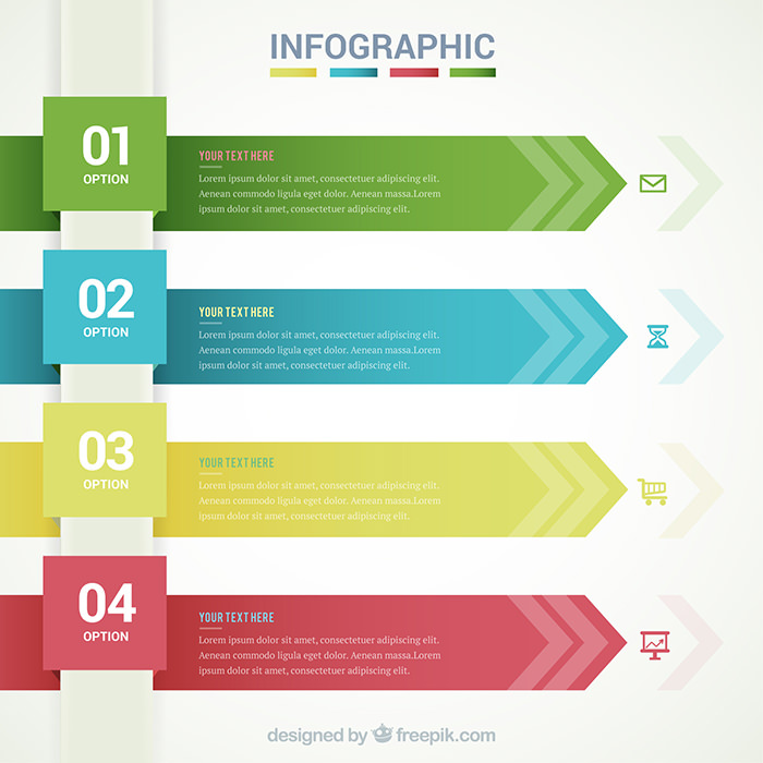40 Free Infographic Templates to Download - Hongkiat