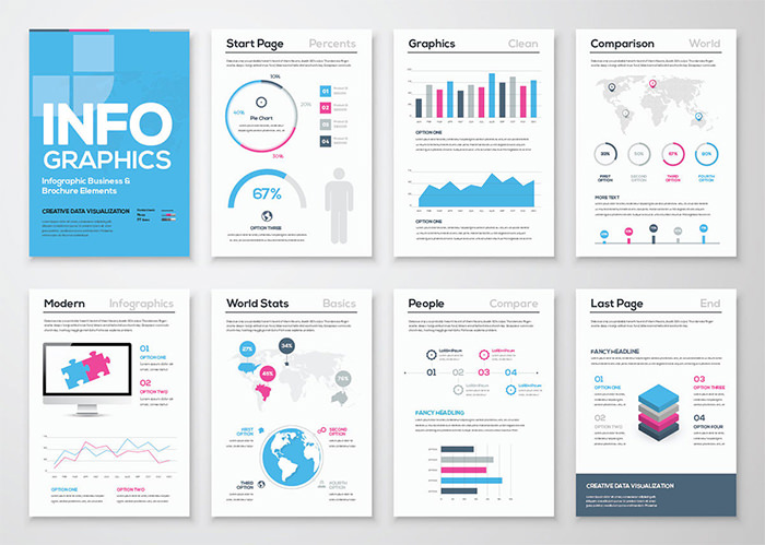 Free Infographic Templates To Download Hongkiat - Brochure templates publisher