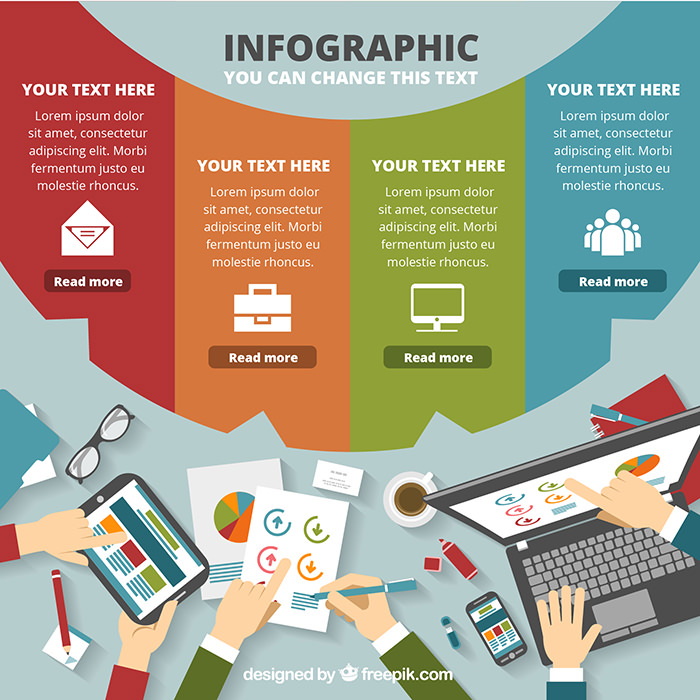colored-business-infographic-template