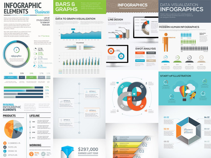 10-free-infographic-vector-templates