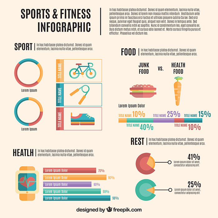 sports-and-fitness-infography