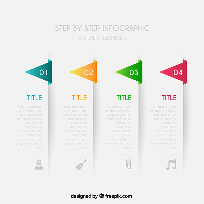 Free Infographic Templates To Download Hongkiat - Timeline graphic template