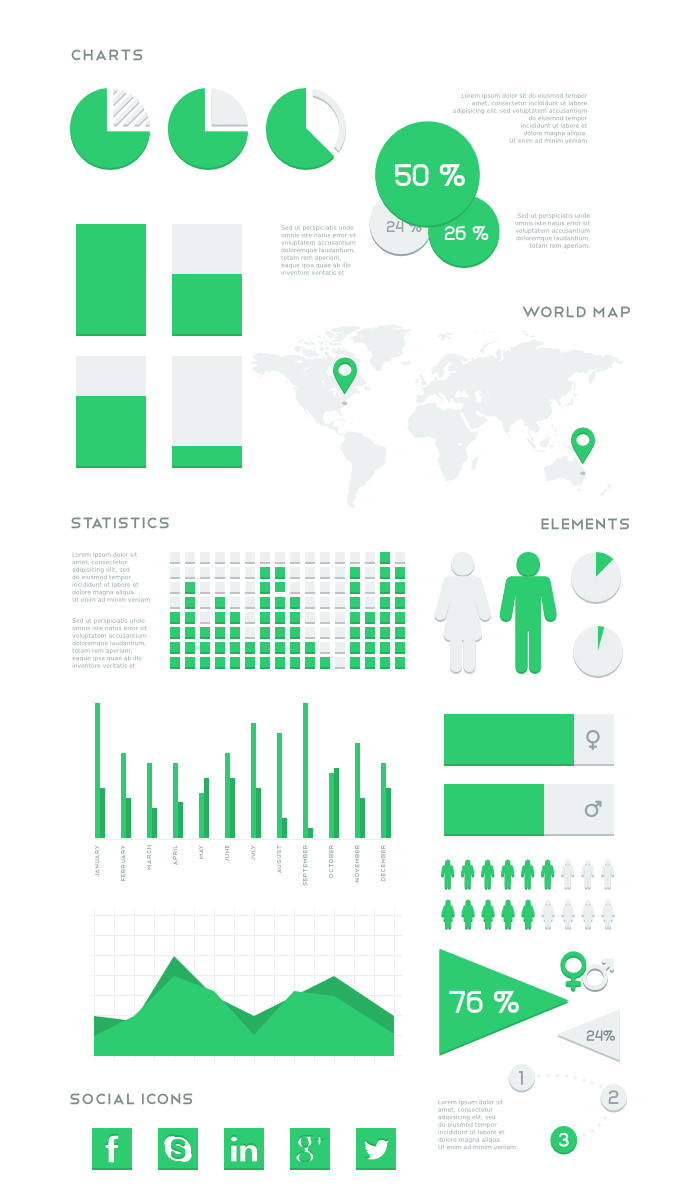 flat-vector-infographic-kit
