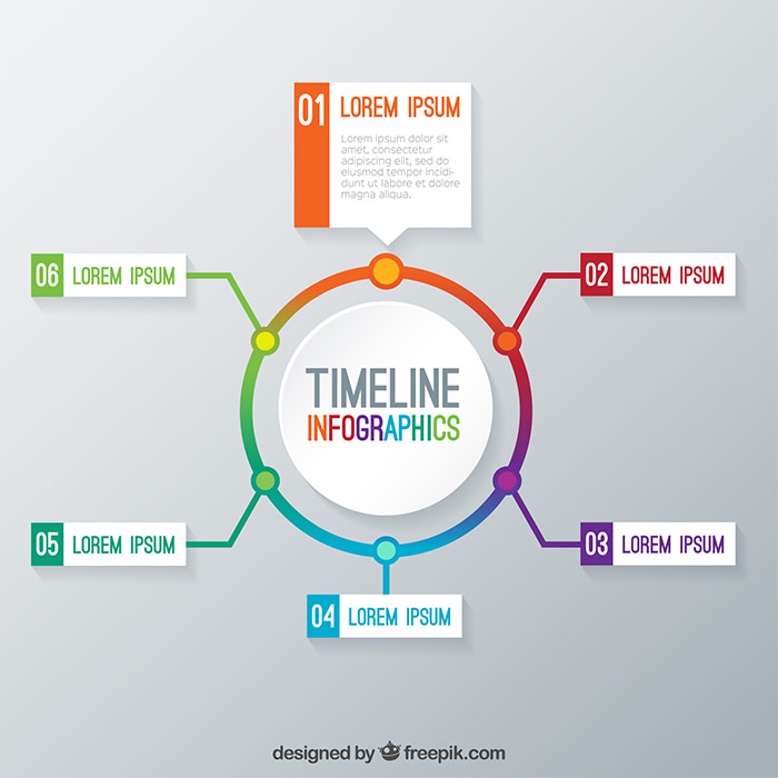 Free Infographic Templates To Download Hongkiat - Timeline html template