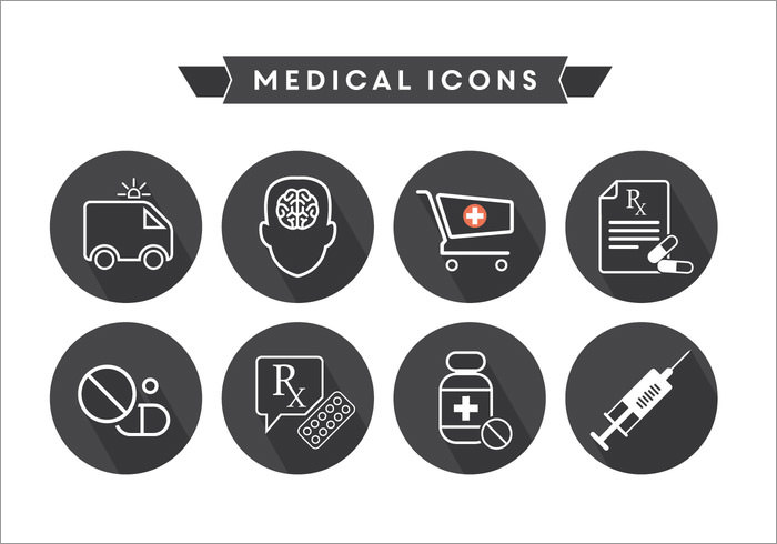 black-medical-icons