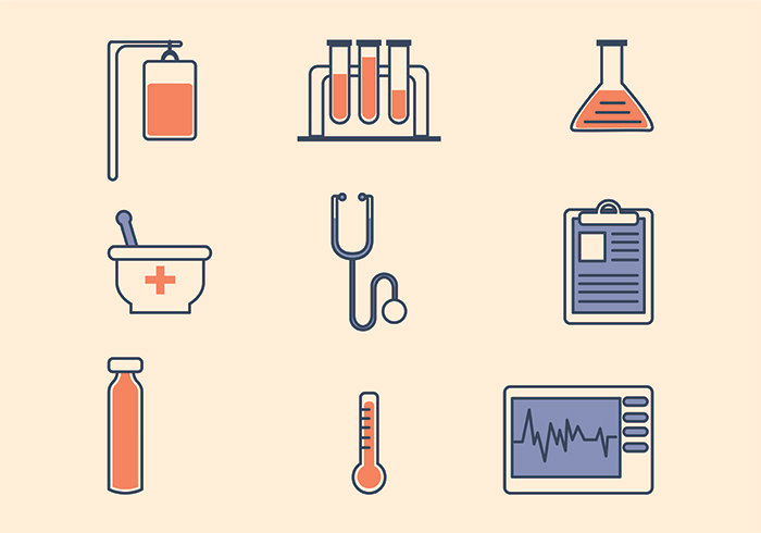 flat-medical-icon-vector