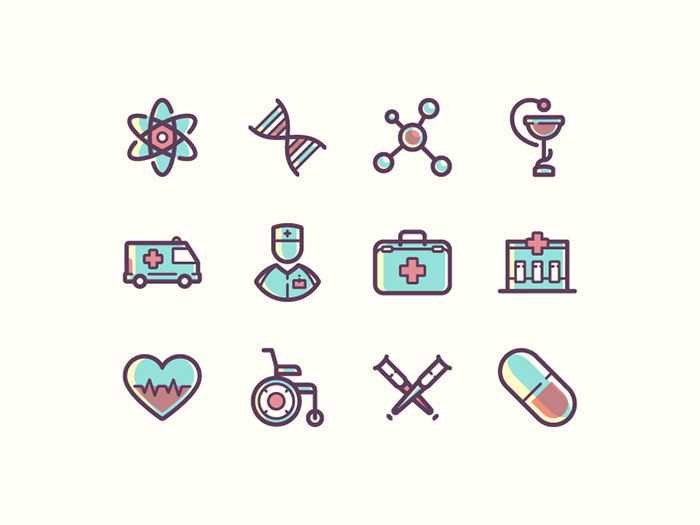 health-iconset