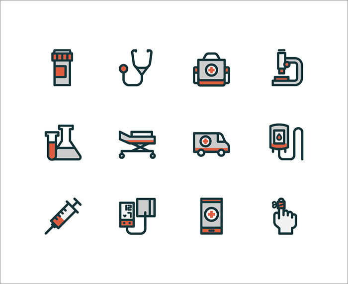 hospital-icons