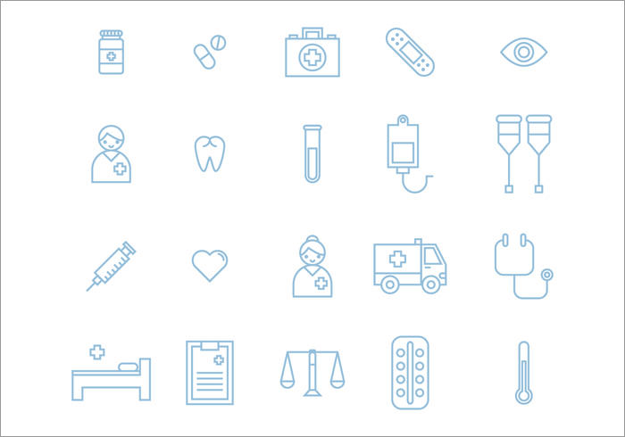 twenty-medical-icons