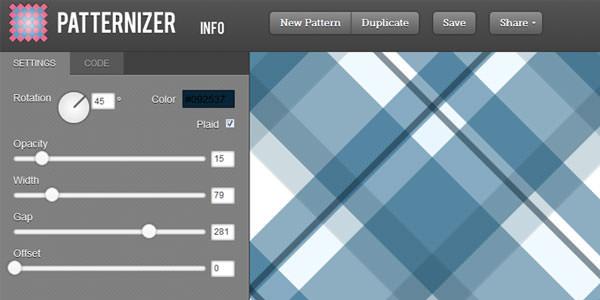 Patternizer-pattern-generator