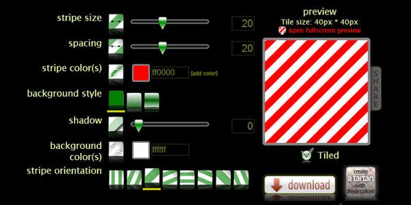 Stripe Generator-pattern-generator