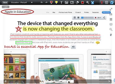 DocAS Lite for iPad
