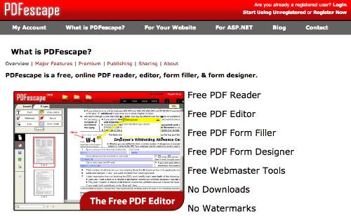 PDFescape for Web