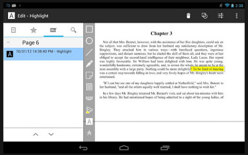 qPDF Notes for Android